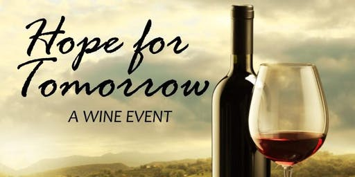 Hope for Tomorrow Wine Event