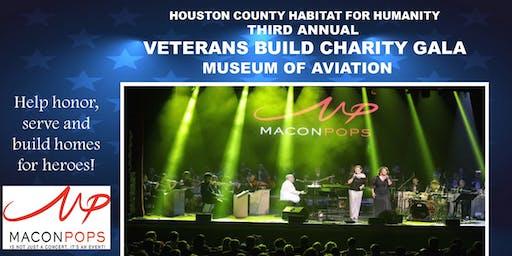 Houston County Habitat Veterans Build Charity Gala