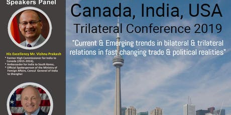 Canada, India, USA Trilateral Conference tickets