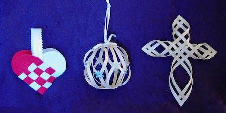 Scandinavian Woven Holiday Ornaments Workshop tickets