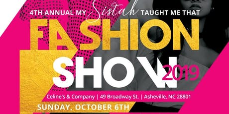 Annual MSTMT Fashion Show - BLACK GIRL MAGIC tickets