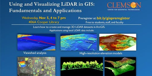 Using and Visualizing LiDAR in GIS: Fundamentals