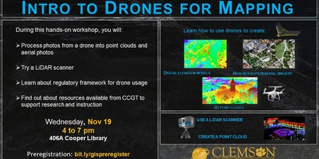 Intro to Drones for Mapping tickets