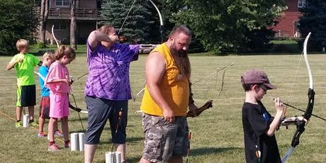 Outdoor Archery Classes (4 Monday Sessions) tickets