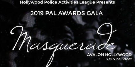 2019 Hollywood PAL Awards Gala: Masquerade tickets