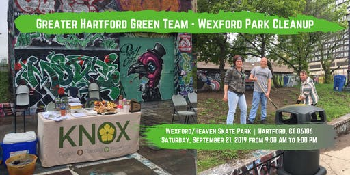 Greater Hartford Green Team - Wexford Park Cleanup