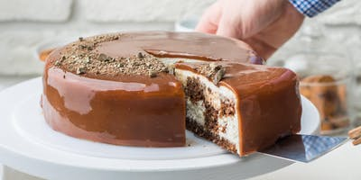 Mirror Glaze Cake Decorating