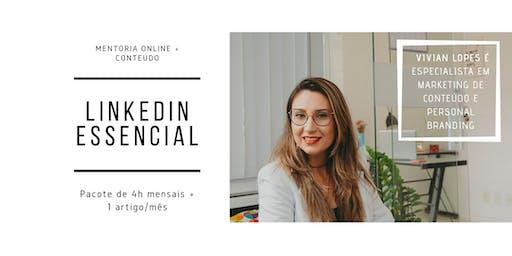 Mentoria LinkedIn - Pacote Essencial mensal 4h