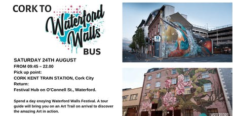 Cork to Waterford Walls Art BusTrail tickets