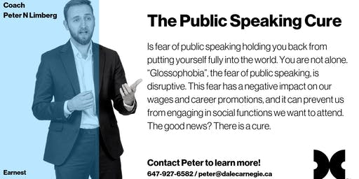 The Public Speaking Cure - September Dose