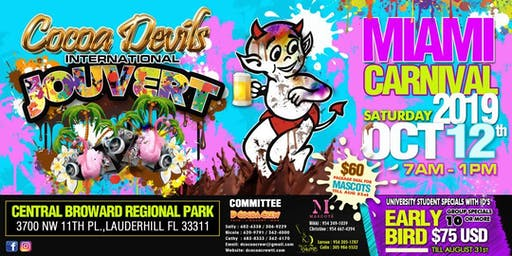 Cocoa Devils International Miami Carnival J'ouvert 2019