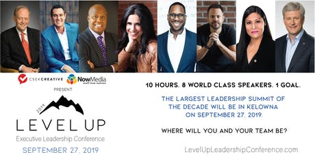 Level Up Executive Leadership Conference tickets