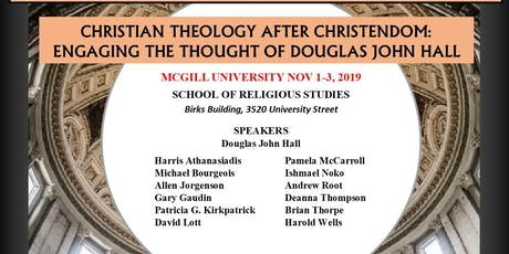 Christianity After Christendom Colloquium (Students FREE. Non Students $35.00 perday)) tickets