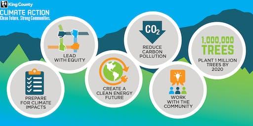 King County 2020 Strategic Climate Action Plan Public Workshop - Bellevue