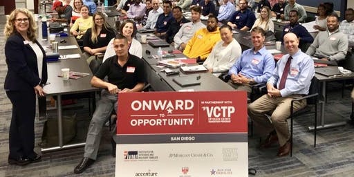 Onward to Opportunity / USD Military and Veterans Program Networking Event