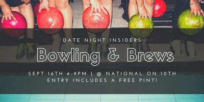 Date Night Insiders Bowling & Brews