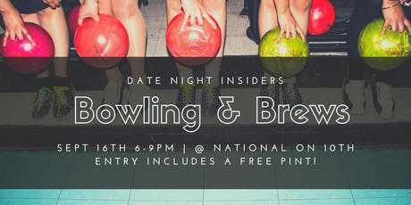 Date Night Insiders Bowling & Brews  tickets