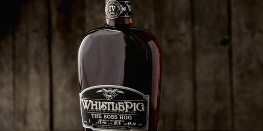 WhistlePig Dinner at Bern's Steak House