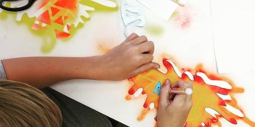 Street Art Calligraphy Workshop for Kids & Families