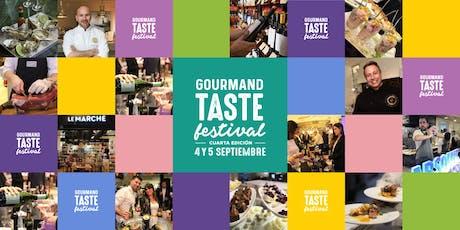 GOURMAND TASTE FESTIVAL - DIA 2 entradas