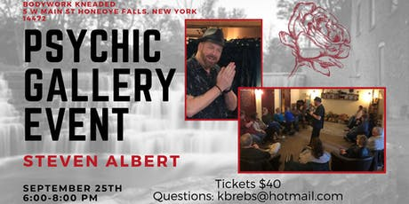 Steven Albert: Psychic Gallery Event - Bodywork Kneaded 9/25 tickets
