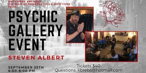 Steven Albert: Psychic Gallery Event - Bodywork Kneaded 9/25