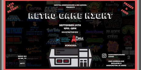 Let's Go Retro - Retro Game Night tickets