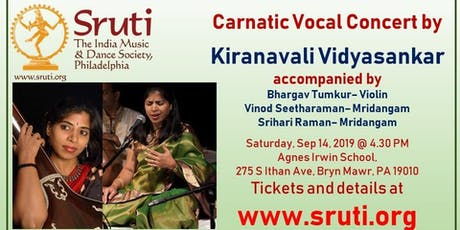 Kiranavali Vidyasankar - A Grand Carnatic Music Concert tickets