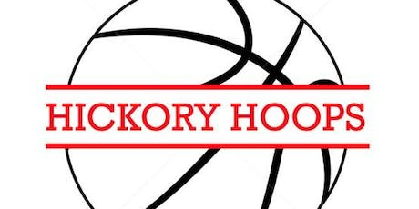 Hickory Hoops 4th-8th grade Fall 2019 Call out tickets