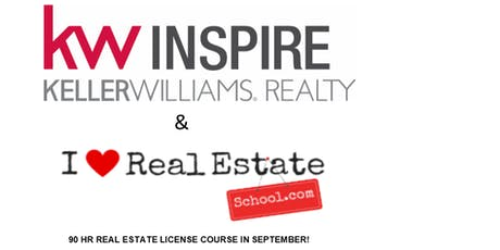 TAKE YOUR REAL ESTATE LICENSE CLASS AT KW INSPIRE IN GENEVA! tickets
