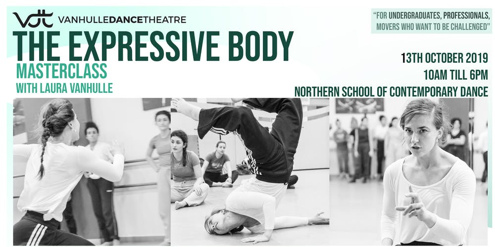 The Expressive Body Tickets, Sun 13 Oct 2019 at 10:00