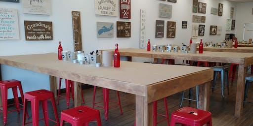 DIY Sign Making Workshop 100's of options!
