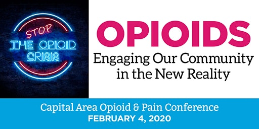1st Annual Capital Area Pain & Opioid Conference