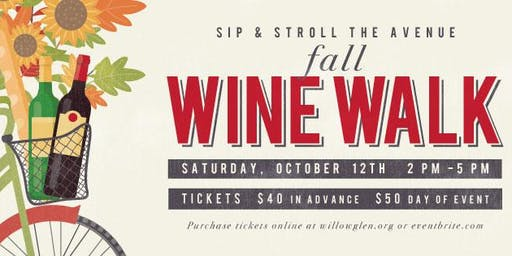 Willow Glen Fall Wine Walk 2019
