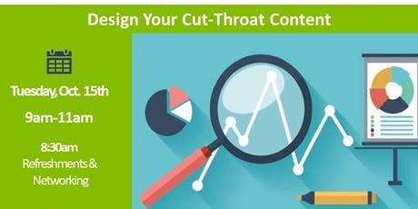 Online Marketing for Business - Design Your Cut-Throat Content tickets