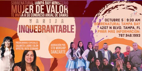 "Congreso de Damas ""Vasija Inquebrantable"" tickets"