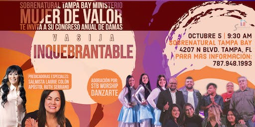 "Congreso de Damas ""Vasija Inquebrantable"""