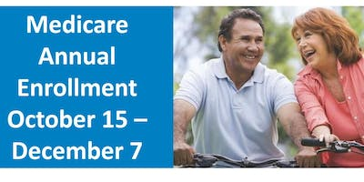 FREE Medicare Enrollment Event (Multiple dates and times available)