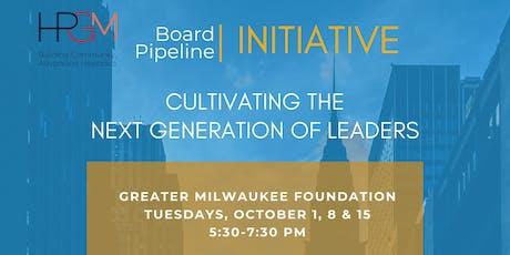 Fall Board Pipeline Initiative tickets