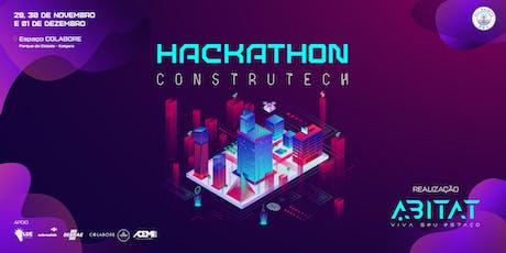 Hackathon Construtech ABITAT ingressos
