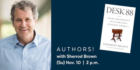 Authors! with Sherrod Brown presented by the Library Legacy Foundation tickets
