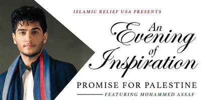 Mohammed Assaf- Promise for Palestine Benefit Banquet and Concert