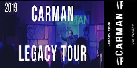 Carman Legacy Tour - VWC tickets