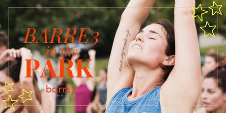 Barre3 in the Park 2019 tickets