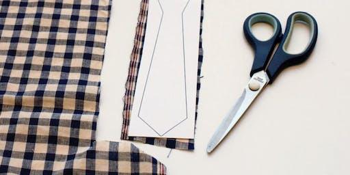 BYOM 6-Week Pattern + Sewing Class: DIY Necktie!