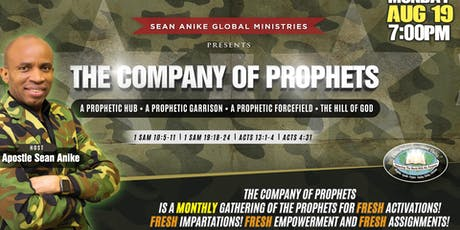 The COMPANY Of Prophets tickets