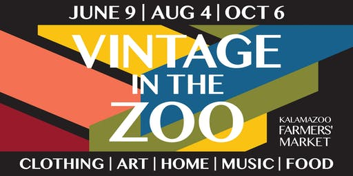 Vintage in the Zoo Market - October 6, 2019