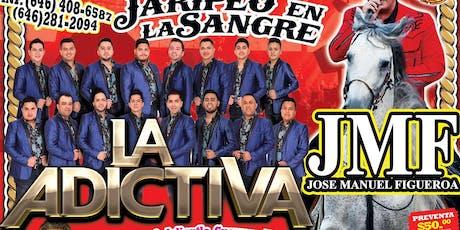 SUPER JARIPEO CON LA ADICTIVA JOSE MANUEL FIGUEROA LOS DESTRUCTORES MEMO OCAMPO tickets