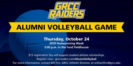 2019 GRCC Raiders Alumni Volleyball Game tickets