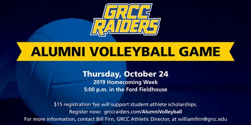 2019 GRCC Raiders Alumni Volleyball Game